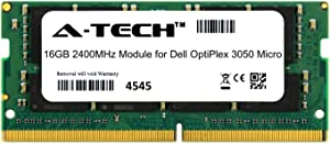 A-Tech 16GB Module for Dell OptiPlex 3050 Micro Form Factor MFF Desktop PC Compatible DDR4 2400Mhz Memory Ram (ATMS283811A25831X1)