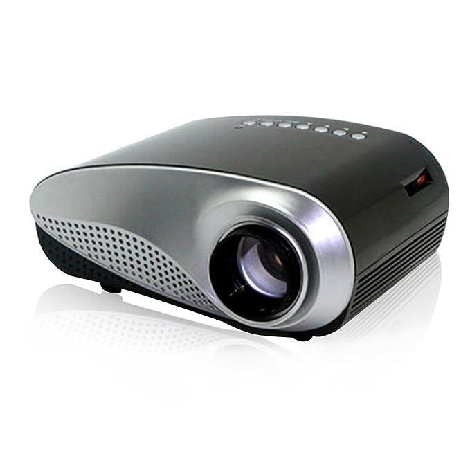 68 opinioni per Excelvan Mini Proiettore LCD LED Videoproiettore 480x320p Multimediale AV / USB