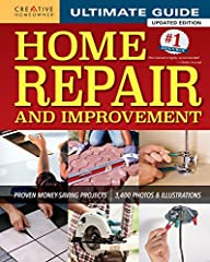 The most complete home improvement manual on the market, this book offers more than 2,300 photos, 800 drawings, and understandable, practical text.   600 page ultimate home improvement manual   325 step-by-step projects with how-to photos, t...