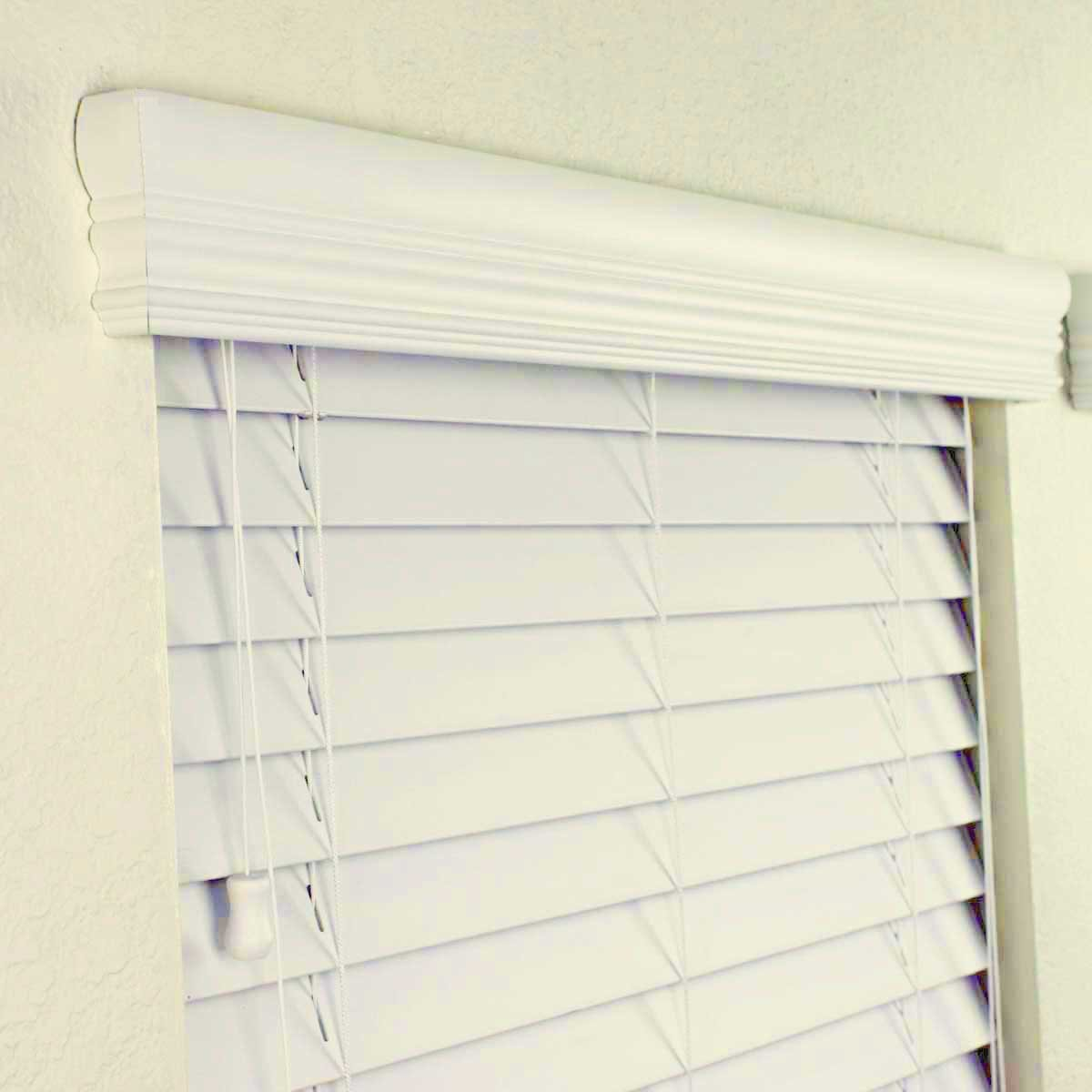 glossary blind of terminology com selectblinds valance covering window