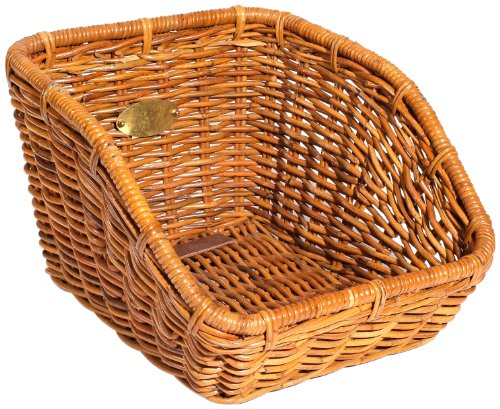 Nantucket Bicycle Basket Co. Tremont Cisco Rear Cargo Basket, Honey