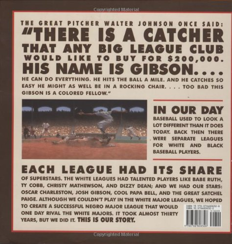 We Are the Ship: The Story of Negro League Baseball by Hyperion (Image #1)
