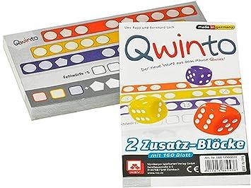 Spiele NSV Qwixx Zusatzblöcke 2er Pack