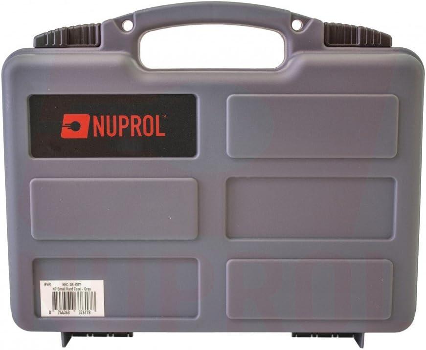 Nuprol Airsoft pistola de peque/ño arma campo Carry duro caso acolchado
