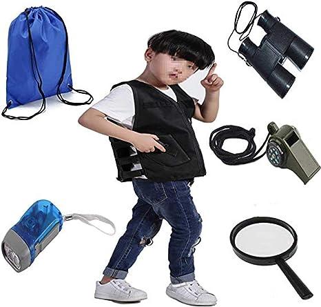 QHZHANG - Kit de Explorador para niños o Disfraz de paleontólogo ...