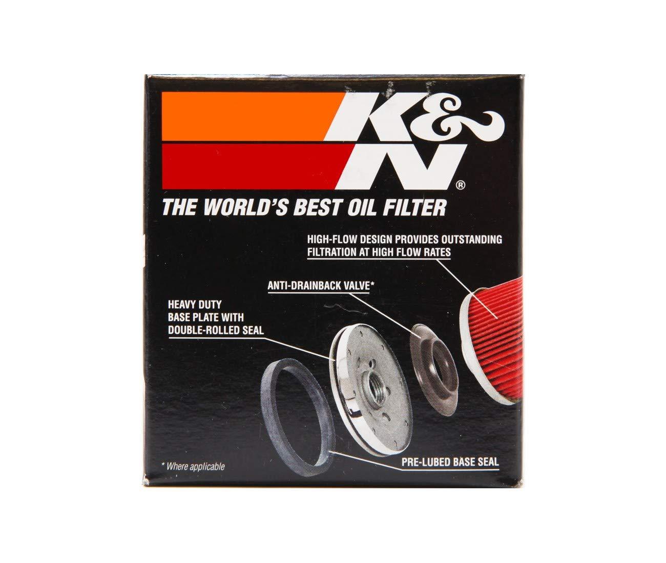 Filtro olio KN138 per Suzuki 600/GSR-650/Gladius-650/SV-DL V-Strom-1000/SV