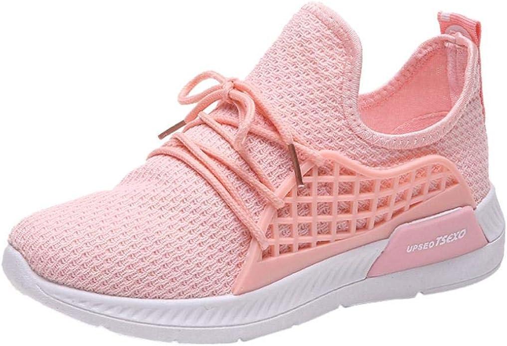 Zapatos para correr casual, Covermason Sneakers de tela elástica ...