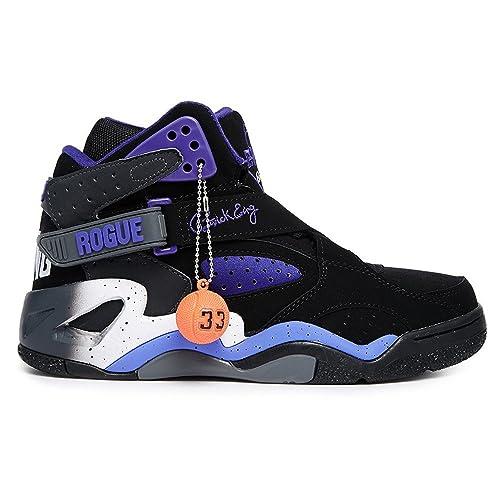 Patrick Ewing - Zapatillas para niña Black Purple  Amazon.es  Zapatos y  complementos b6ba0966c2eb2