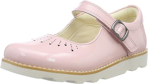 Clarks Girls/' Crown Jump T Ballet Flats