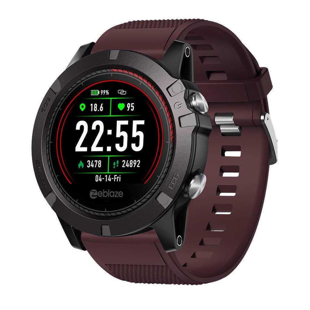 CZYCO VIBE 3 ECG Smart Watch Heart Rate Monitor Wristband Sport Bracelet 1.2'' by CZYCO