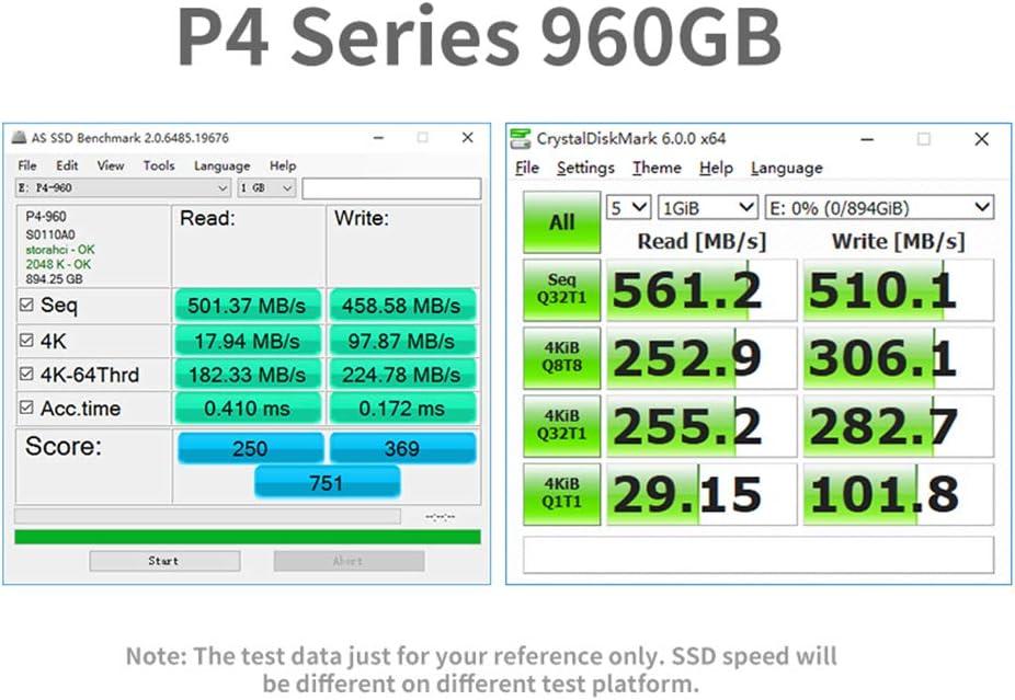 YSM 2 TB De Disco Duro Externo 1 TB Disco Duro SSD 2,5 120Gb SSD ...