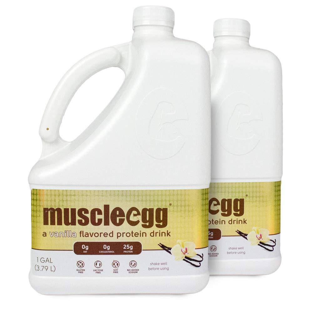 a288a64763ce Amazon.com  MuscleEgg Vanilla Liquid Egg Whites Protein - 2 Gallons  Health    Personal Care