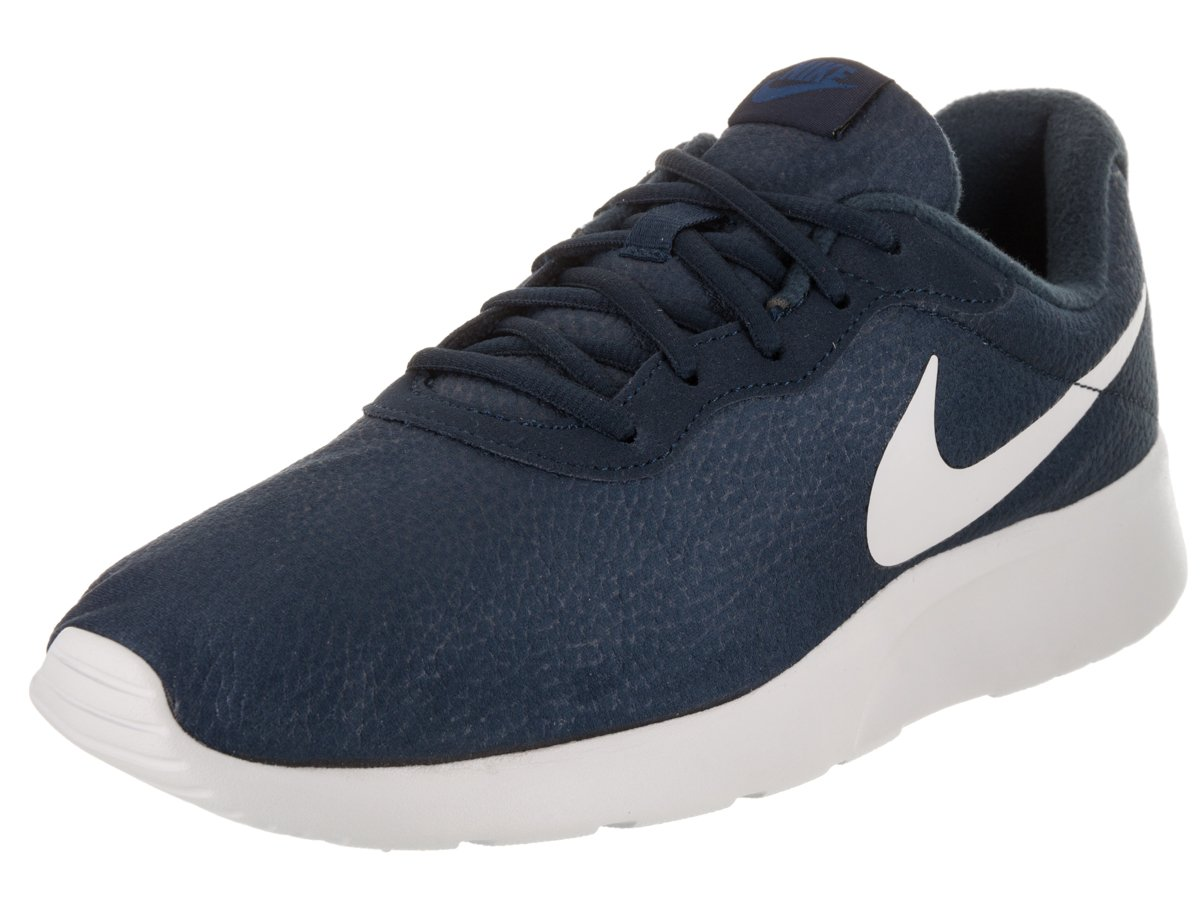NIKE Men's Tanjun Prem Running Shoe B007RT1NU8 8 D(M) US|Obsidian/Pure Platinum-gym Blue