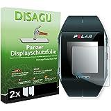 2 x DISAGU Pellicola alta protezione del display per Polar V800 antirottura
