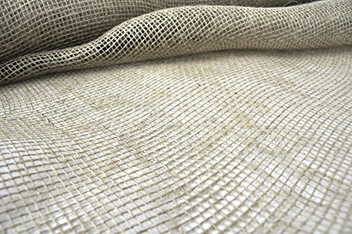 Landmaster 37330A 100 Percent Jute Burlap Fabric, 3 feet x 300 feet, 3 feet x 300 feet]()