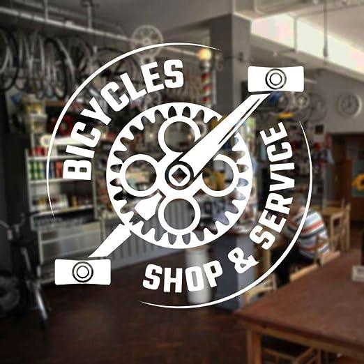 yaoxingfu Diseño Creativo Bicicletas Tienda y Servicio Etiqueta de ...