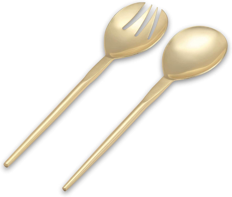 Gold Serving Set