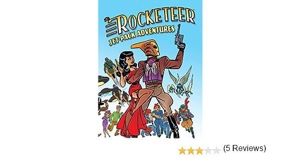 Rocketeer: Jet-Pack Adventures [Idioma Inglés]: Amazon.es: Frost, Gregory, Navarro, Yvonne, Webb, Don, Unsworth, Simon Kurt, Goodfellow, Cody, Holder, Nancy, Collins, Nancy A., Hood, Robert, Kaufmann, Nicholas, Morton, Lisa, Bone, J.: Libros en