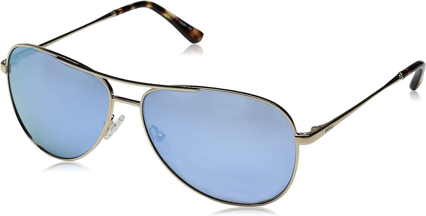 419f06a783 Amazon.com  Revo Relay Polarized Aviator Sunglasses