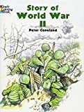 world war two planes - Story of World War II (Dover History Coloring Book)
