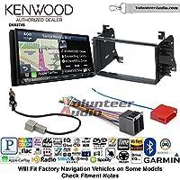 Volunteer Audio Kenwood DNX874S Double Din Radio Install Kit with GPS Navigation Apple CarPlay Android Auto Fits 2008-2014 Kia Sedona, 2009-2010 Kia Optima