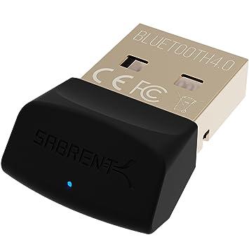 Sabrent USB Bluetooth 4.0 Micro Adaptador para PC [V4.0 Clase 2 con tecnología de Baja energía] (bt-ub40): Amazon.es: Informática