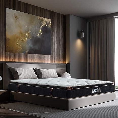 Amazon.com: BedStory Colchón de espuma viscoelástica de gel ...
