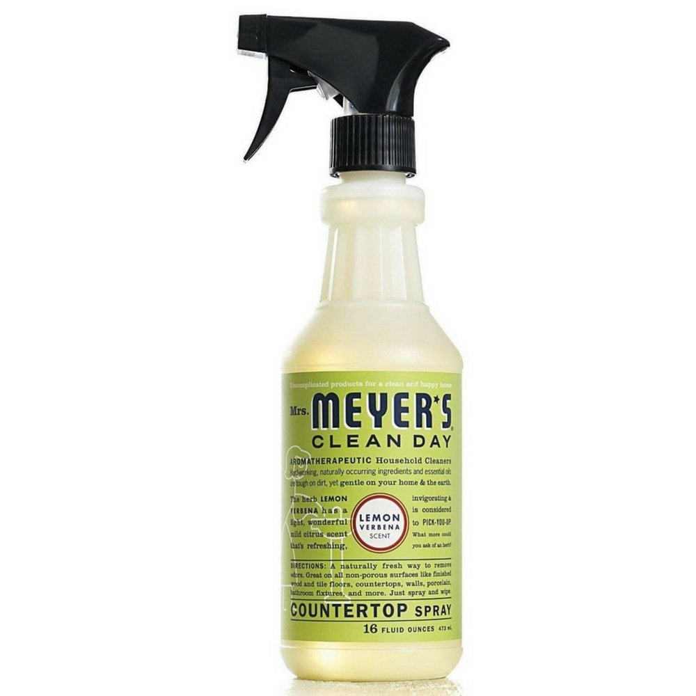 Amazon.com: Mrs. Meyers Clean Day Countertop Spray, Lemon Verbena 16 ...