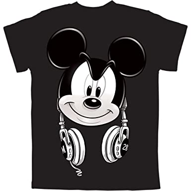 5ddeaced8 Amazon.com: Mickey Mouse Headphones Boys Graphic T Shirt: Clothing