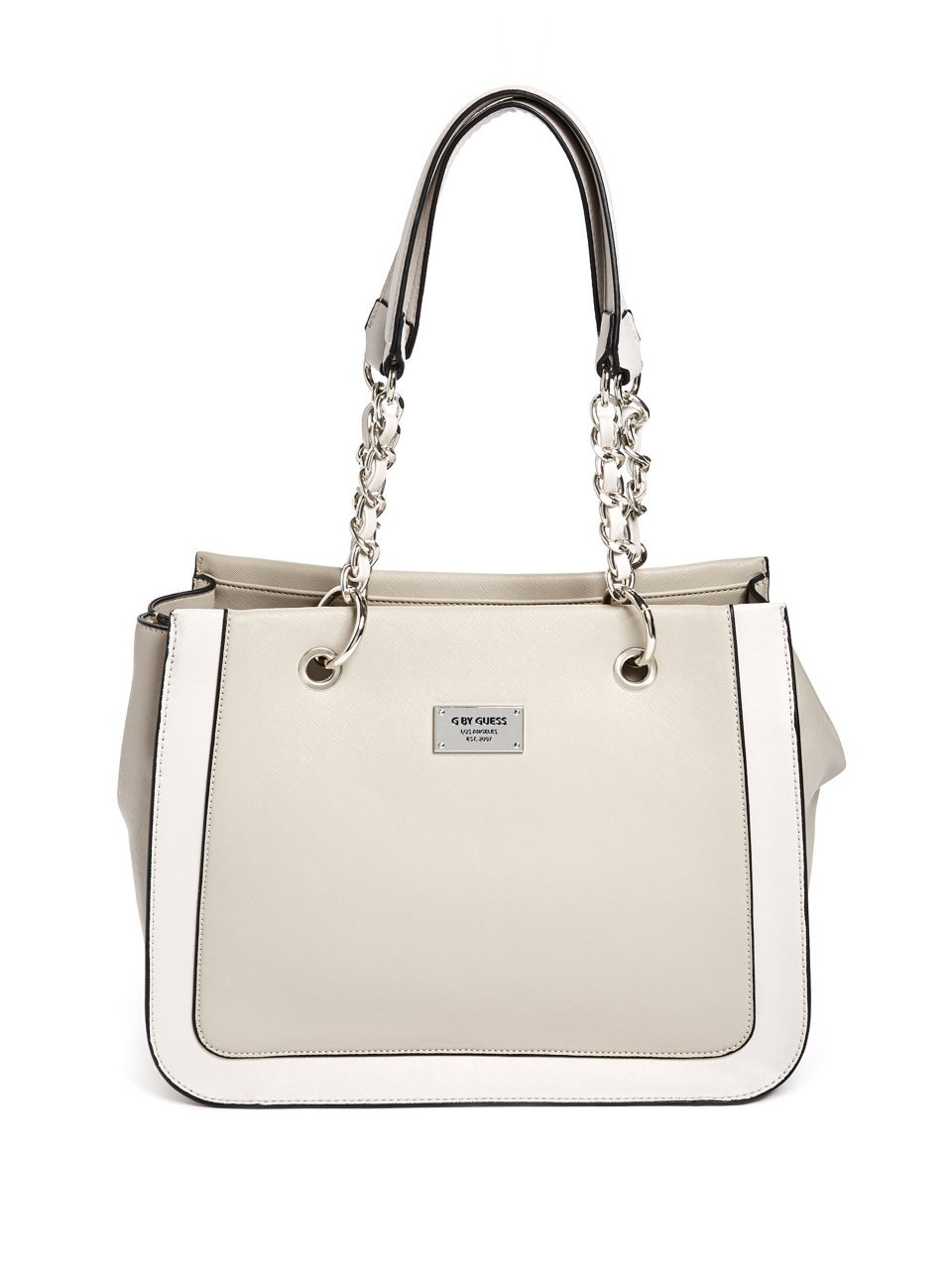 G by GUESS Women's Ramsey Large Chain-Strap Satchel