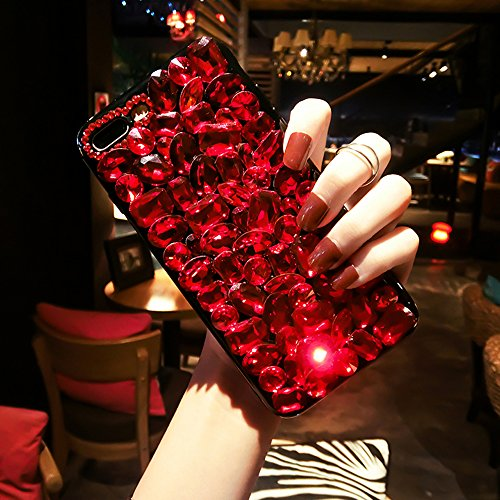 iPhone 8 Case, iPhone 7 Case, OwMell Luxury Handmade Crystal Rhinestone Bling Full Diamond Glitter Case Cover for iPhone 7/ iPhone 8 4.7