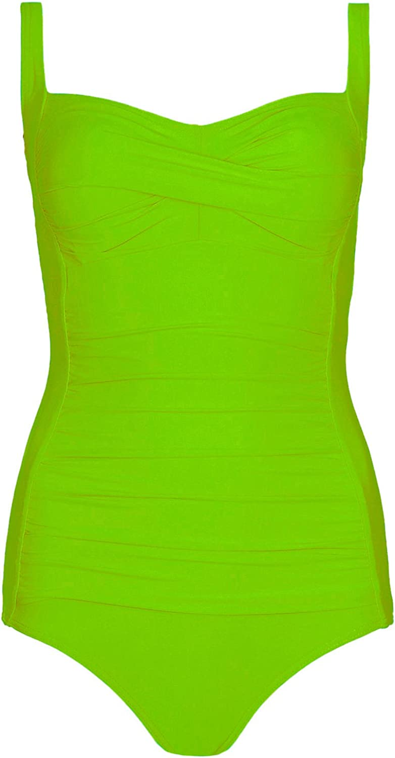 Strawberry Hill Cottage Womens Ex M/&S Secret Support Tummy Control One Piece Swimsuit