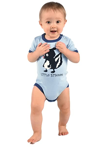 LazyOne Chicos Little Stinker Mameluco Bebé: Amazon.es: Ropa y accesorios