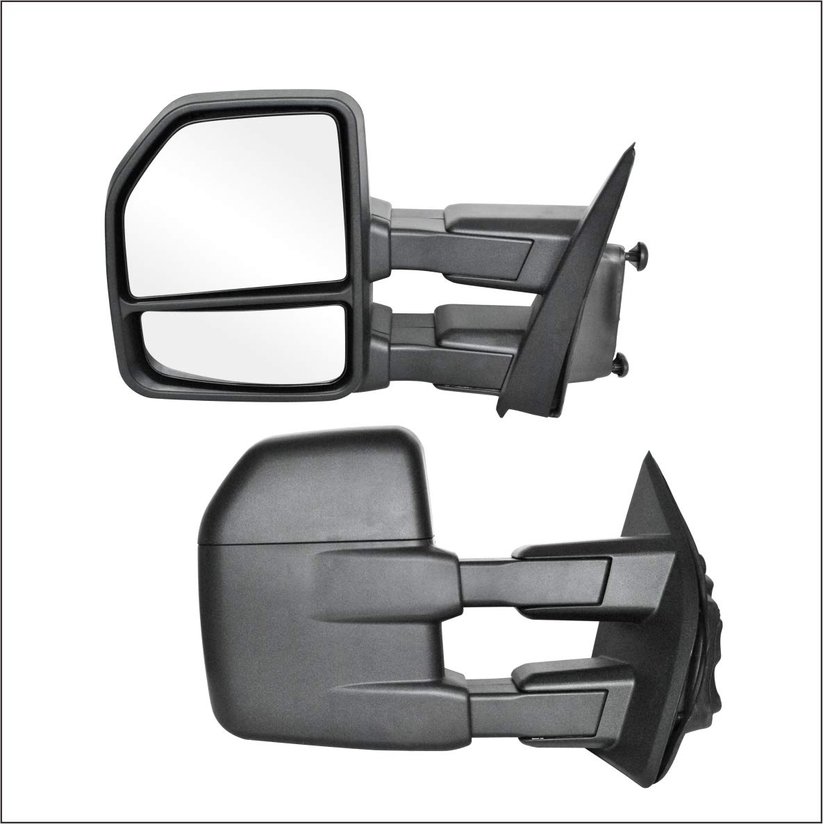 Perfit Zone TOWING MIRROR Replacement Pair Fit For FORD F150 2015-2017