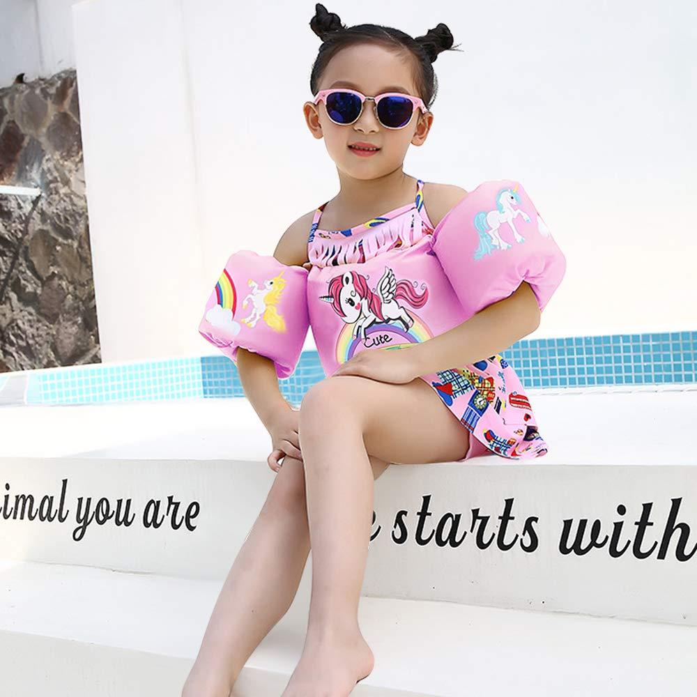 d70286d677 Amazon.com: Eccbox Toddler Life Jacket Kids Swim Float Baby Infant Swim  Life Vest/Kids Arm Floaties Swimming Floats Vest for Kids 30-55 lbs  (Unicorn): Toys ...