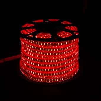 50M LED شريط ضوء مرن مزدوج خط 180 LED/M 13W / M