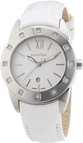 Pandora - 811011WH - Montre Femme - Quartz Analogique - Bracelet ...