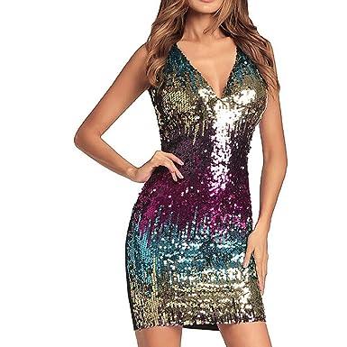 a491d74d1 YYW Women Sequin Dress