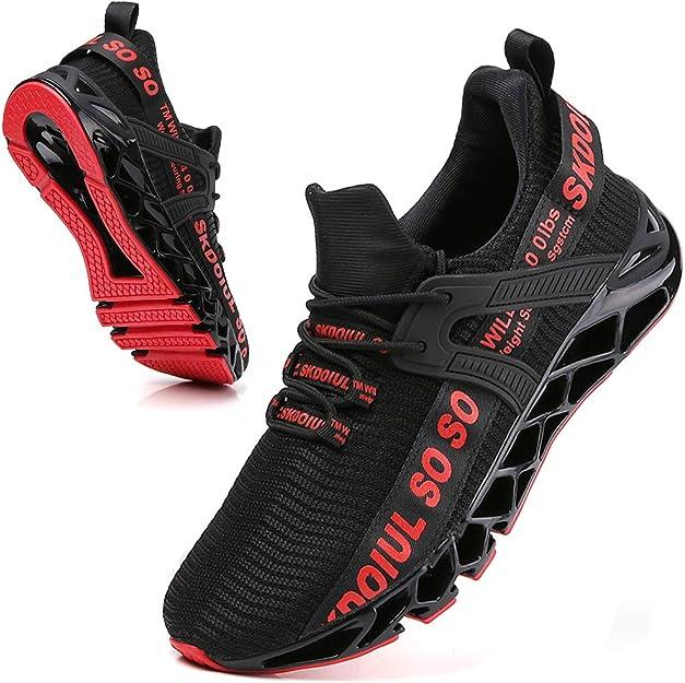 5. SKDOIUL Men's Mesh Breathable Trail Runner Sneaker