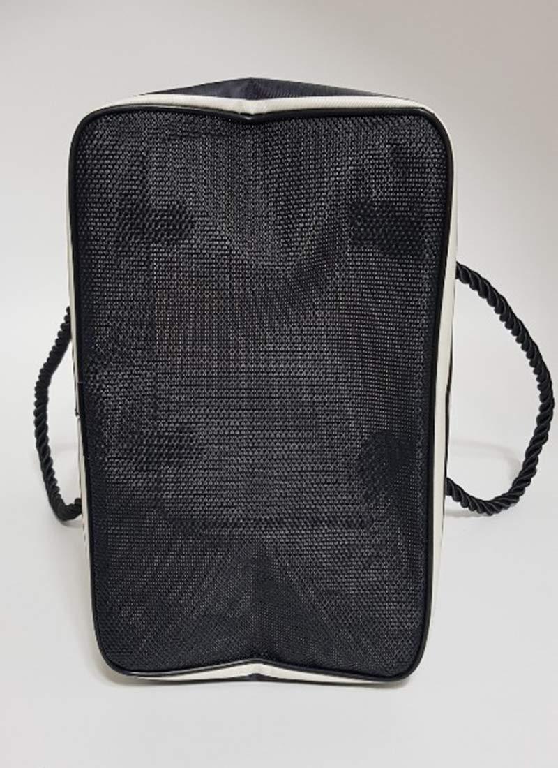 Quick Dry Bag for Dorm Gym Swimming Pool Joy Cute Bear Black Basket Shower Spa Sport Supplies Caddy Bath Products Basket Camping mesh Bottom Beach spa Items Bag