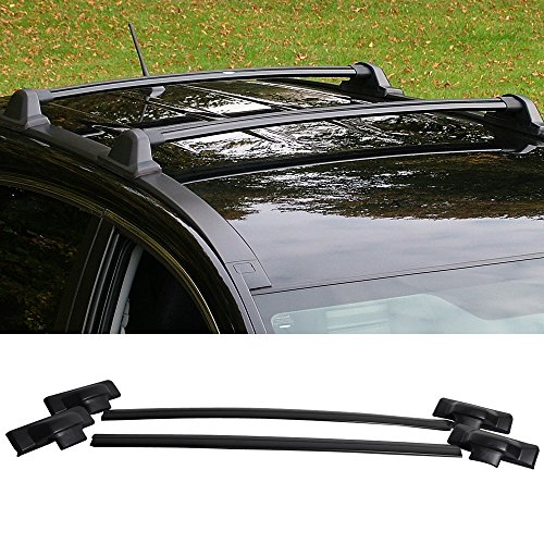 2007-2011 Honda CRV CR-V OEM Quality Black Roof Rack Cross Bar (Roof Crv 2010 Rack Honda)