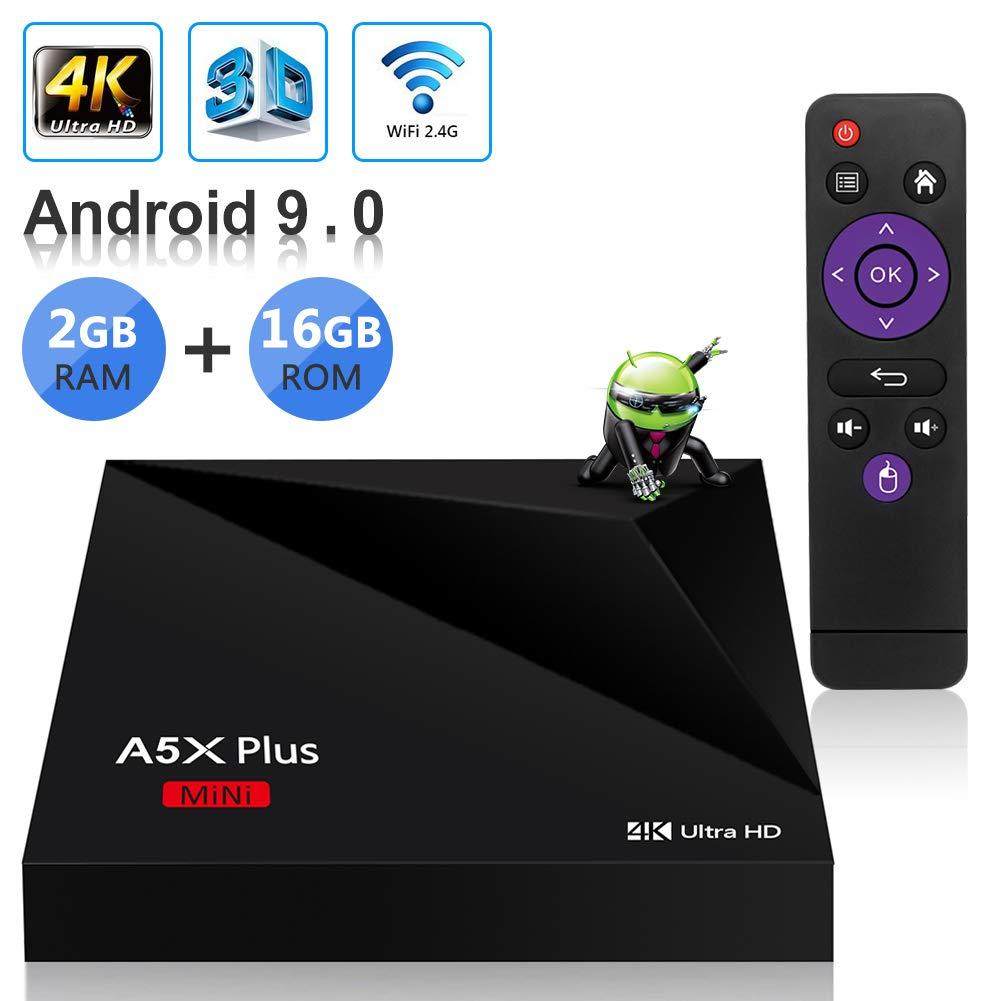Sidiwen Android 9.0 TV Box A5X Plus Mini