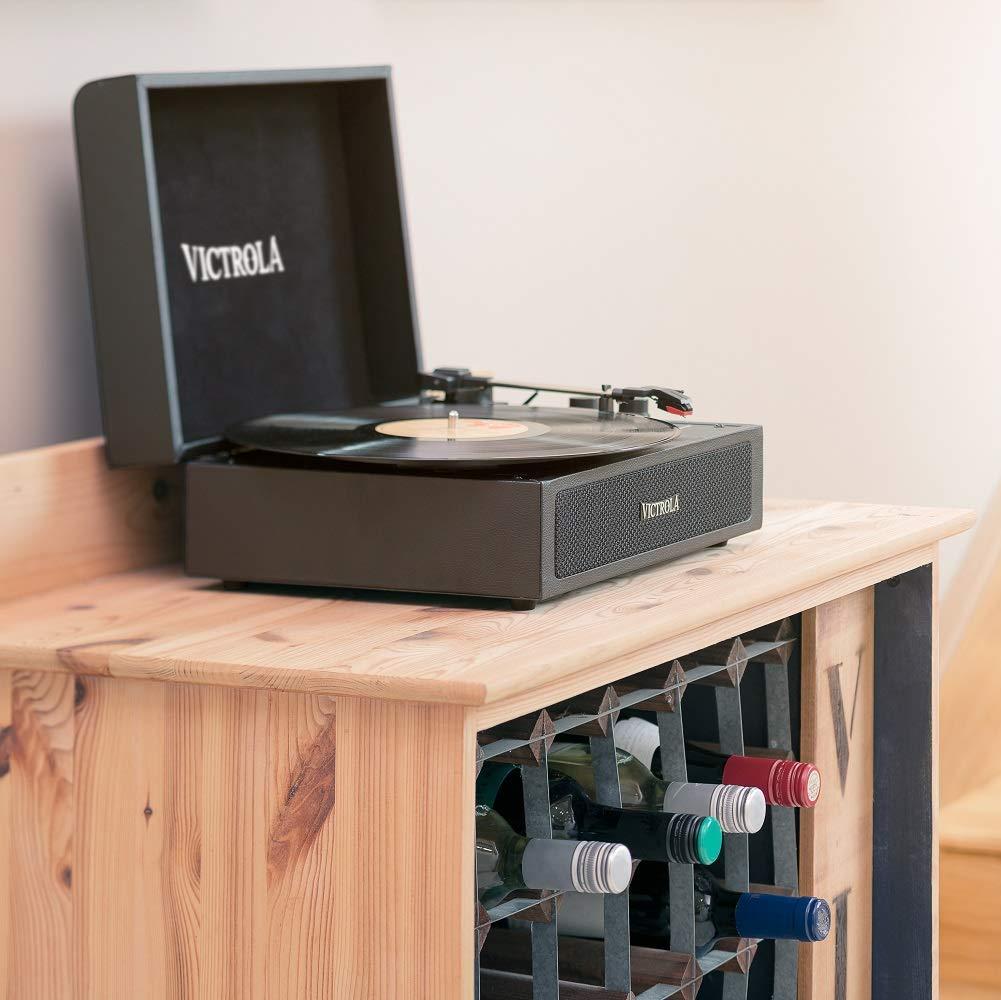 Victrola Premium, Tocadiscos Altavoces Bluetooth, Tamaño Único ...