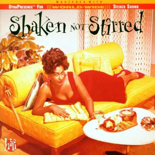 Original album cover of Shaken Not Stirred by VARIOUS ARTISTS (1996-02-27) by James Bond themes