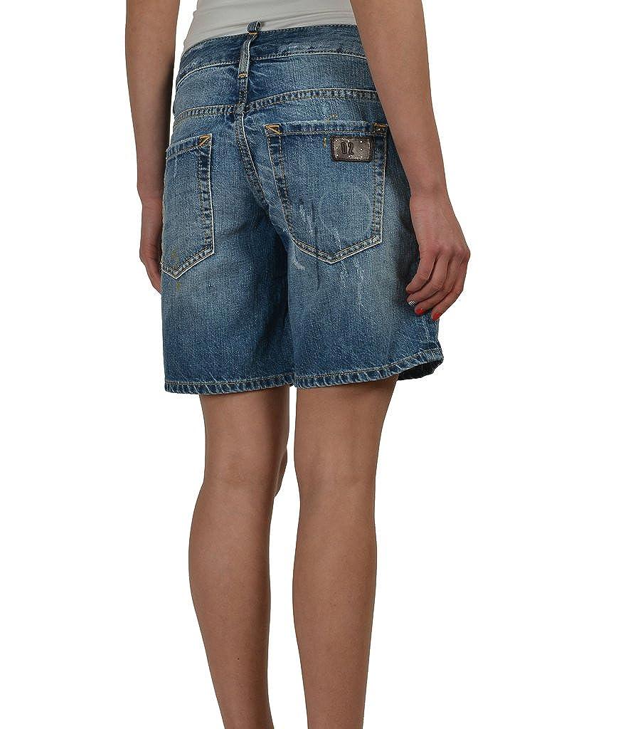 Amazon.com: Dsquared2 azul envejecido Mujer Denim Pantalones ...