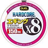 デュエル(DUEL) PEライン ハードコア X8 エギング