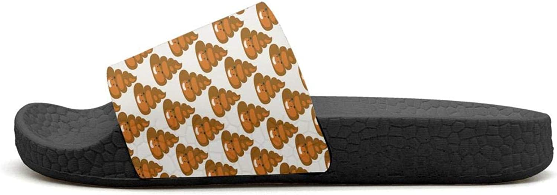 Sansalsk2 Trigonometric Mathematical Equation Womens Modern Slipper Comfort Open Toe Flat Interior Slides Shoes