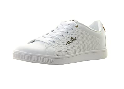 ellesse Fery Blanc ARG w - Chaussures Basses Cuir OU Simili  Amazon.fr  Chaussures  et Sacs da26e252587d