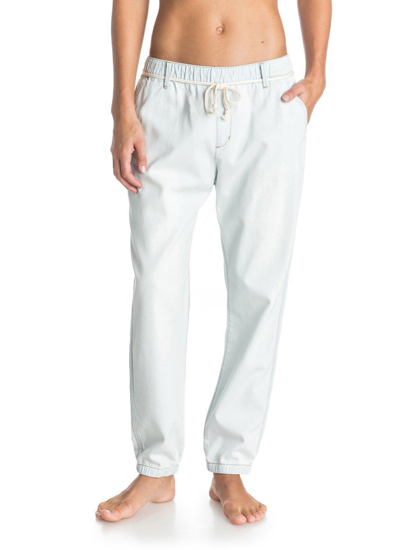 Roxy Hose Beachy Beach DN J Pants - Pantalones para mujer, color azul (vintage bleach), talla