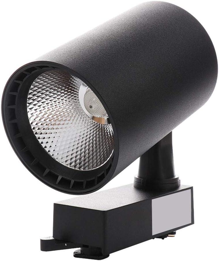 SZT ライティングバー用スポットライト ダクトレールライト 12W/20W 電球付き LEDスポットライト ライティングレール ライト トラックライト 天井スポットライト ディスプレイ照明